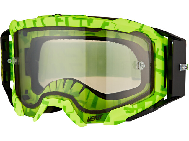 Leatt Velocity 5.5 Anti Fog Gafas, neon lime/light grey